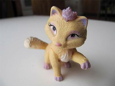 Barbie Doll Island Princess Luciana's Pet Kitty Cat w/Crown ~ Poseable-Jointed