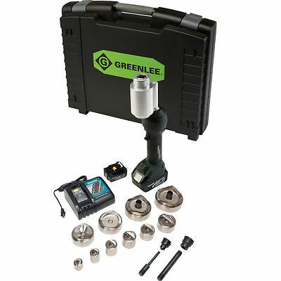 "Greenlee LS100X11SBSP4 11-Ton Slugbuster Knockout Punch Tool 1/2"" - 4"" Kit"