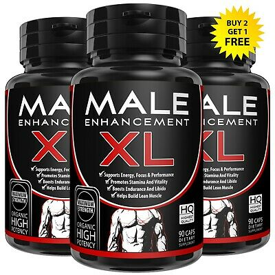 Male Enhancement Herbal Enlarger Pills Bigger Harder Longer Thicker Gain Size