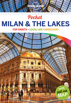 Lonely Planet POCKET GUIDE MILAN & THE LAKES 3 (Travel Guide) - BRAND NEW
