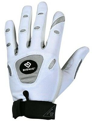 Bionic Tennis Glove White Left Handed Ladies Extra Large (for RH Player)
