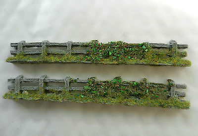 Rough Country Fencing Japf7 ~ Scenery For Model Rail Oo / Ho Scale, Brand New
