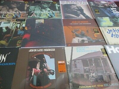 """John Lee Hooker Serves You Right Collection 12"""" + 45 Speed & Limited 18 Lp Set"""