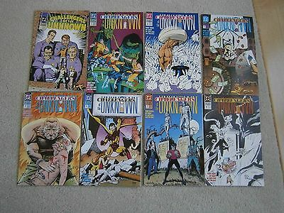 Challengers of the Unknown 1991 series - 1, 2, 3, 4, 5, 6, 7, 8 complete set NM