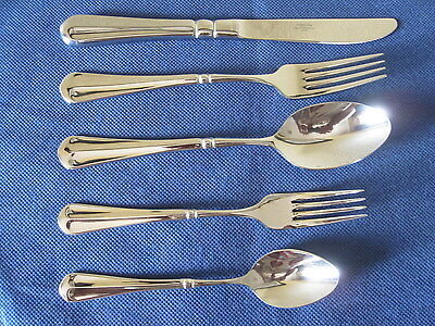 MIKASA FRENCH COUNTRYSIDE 2 X 5pps 18/10 STAINLESS STEEL FLATWARE NEW IN CARTONS