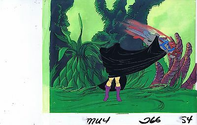 He-Man Masters of the Universe Original Animation Cel & Copy Bkgd #A19041
