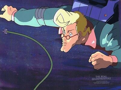 The Real Ghostbusters Original Production Animation Cel & Copy Bkgd #A19051