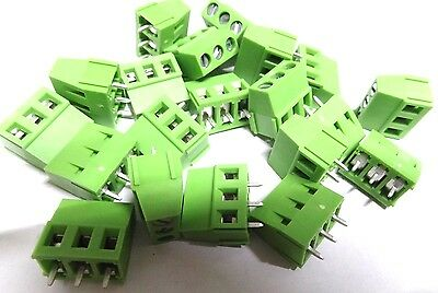 20 3 way pcb mount screw terminal block 16A TL206VB-3PGS