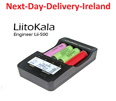 Liitokala lii-500 Smart Battery Charger AA AAA 10440 14500 16340 18650 17335