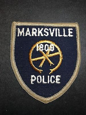 Marksville Louisiana  Police  Shoulder  Patch