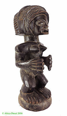 Chokwe Chibinda Ilunga Rueji Figure Female African Art SALE WAS $450
