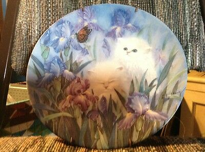 Porcelain Cat Collector Plate