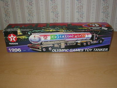 1996 Texaco Olympic Games Toy Tanker Limited Edition 100Th Games...nib