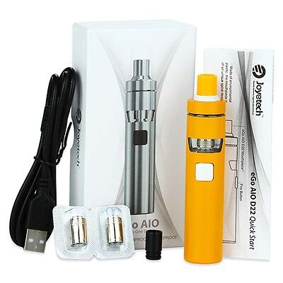 100% 0Joyetech AIO D22 Kit 1500mAh Capacity 2ml BF SS316-0.6ohm MTL Head