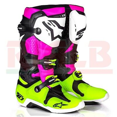 Alpinestars Motorcycle Motocross Offroad RADIANT TECH 10 Limited Edition Boot