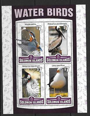 Solomon Islands 2016 Waterbirds (1) Mnh