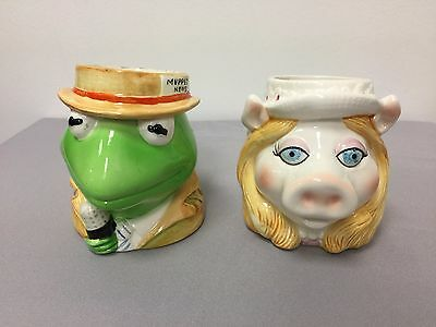 Vintage Muppets Miss Piggy & Kermit The Frog Ceramic 3D Coffee Mug by Sigma