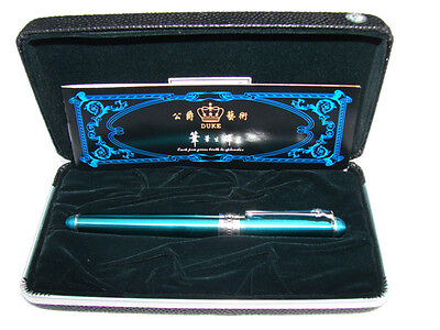 Duke D2 Green Gentleman Rollerball Pen In High Quality With Gift Box