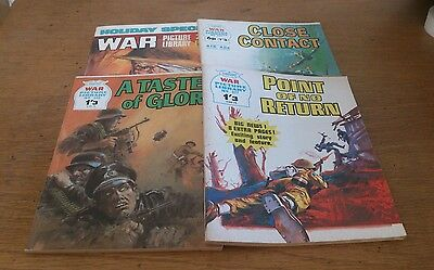 4 War Picture Library, 1970S,  Inc Holiday Special, 1974