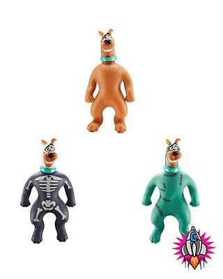 Official Mini Stretch Scooby Do Action Figure + Rare Zombie And Skeleton