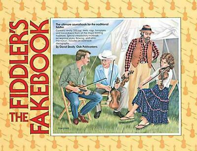 The Fiddler's Fakebook by David Brady Paperback Book (English)