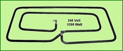 * Chromalox 240V 5300W Commercial Range Oven Heating Element Hobart Vulcan NEW *