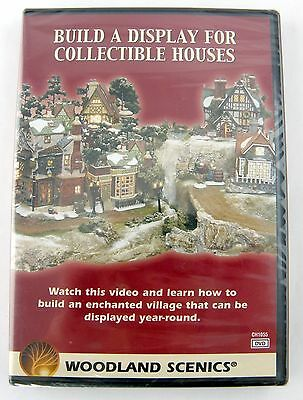 Build A Display For Collectible Houses DVD - Woodland Scenics #CH1055