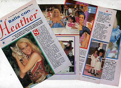 T11 Clipping-cutout of 1992 In tu for tu with Heather Parisi