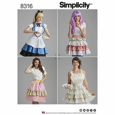 Simplicity SEWING PATTERN 8316 Misses Aprons S,M,L