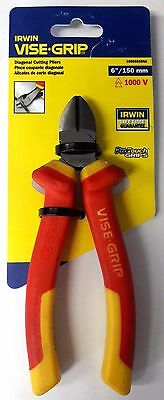 """Irwin 10505865NA Vise Grip 6"""" 1000V Insulated Diagonal Cutting Pliers"""