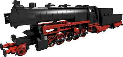 built from LEGO® parts DIESELLOK WR360 TRAIN building INSTRUCTION only