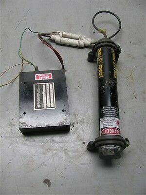 Melles Griot Laser Model 05-LHR-911 With Power Supply Model 05-LPM-379-1