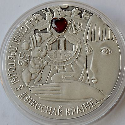Belarus, 20 Rubles, 2007, Alice in Wonderland, Fairy Tales Series, COA