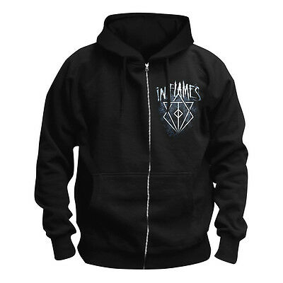 IN FLAMES - Battles Crest Kapuzenjacke zipped Hoodie