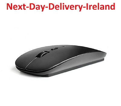 2.4GHz Ultra Slim Thin Wireless Mouse Mice for PC Laptop Windows Apple Macbook