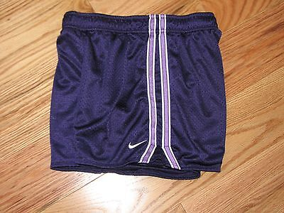 Nike Dri Fit  Mesh Athletic Running Shorts Girls XL-16-purple