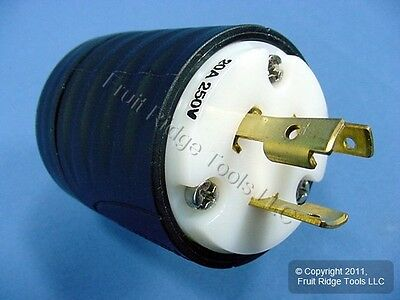 Pass & Seymour Locking Plug NEMA L6-20P L6-20 Twist Lock Turnlok 20A 250V L620-P