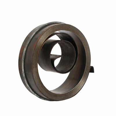 """19"""" Long 19mm Width Auto Reset Drill Press Quill Feed Return Coil Spring Gray"""