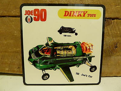 Drink Coaster Set Of 4 - Dinky Toys Joe 90 - Joes Car