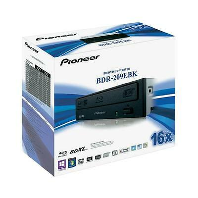 Pioneer Bdr-209Ebk Masterizzatore Interno Blu-Ray Dvd/cd Retail Black