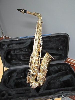 ACCENT (AS710L) ALTO SAXOPHONE W/Nylon Hard Sided Case Outstanding Condition