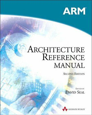 ARM Architecture Reference Manual, David Seal Paperback Book The Cheap Fast Free