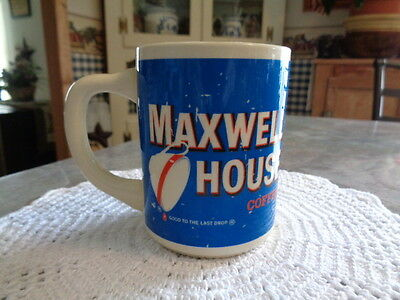 Vintage Maxwell House Coffee Cup Mug Made In The USA Good To The Last Drop