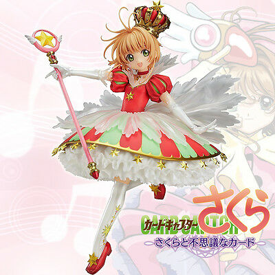 Card Captor Sakura 15 YEARS Kinomoto Sakura Crown 1/7  Figure New No Box CHN VER