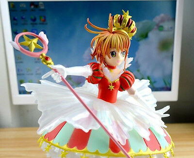 Card Captor Sakura 15 YEARS Kinomoto Sakura Crown 1/7 Figure CHN VER. New in Box