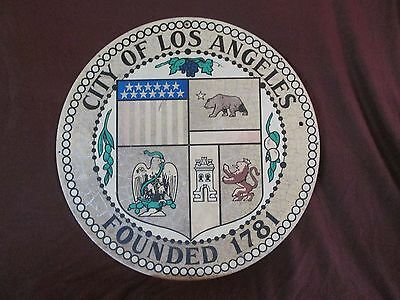 Vintage CITY of LOS ANGELES Sign