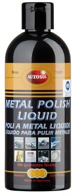 AUTOSOL Metal Polish Liquid 250 ml Edel Chromglanz Chrom Metall Reinigung