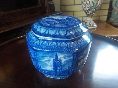 Maling Ware Ringtons Tea Caddy / Biscuit  Jar Royal Windsor Castle