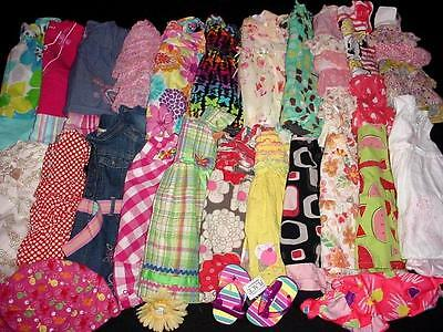 40pcs USED BABY GIRL 12 18 MONTHS SPRING SUMMER CLOTHES LOT