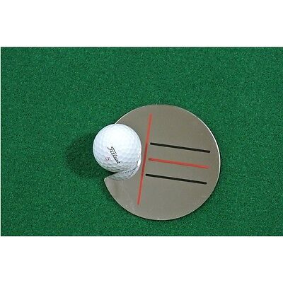 Golf Target Mirror Alignment 2 in 1 Training Aid